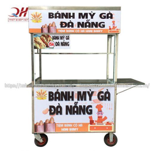 Xe đẩy bán bánh mì gà Đà Nẵng