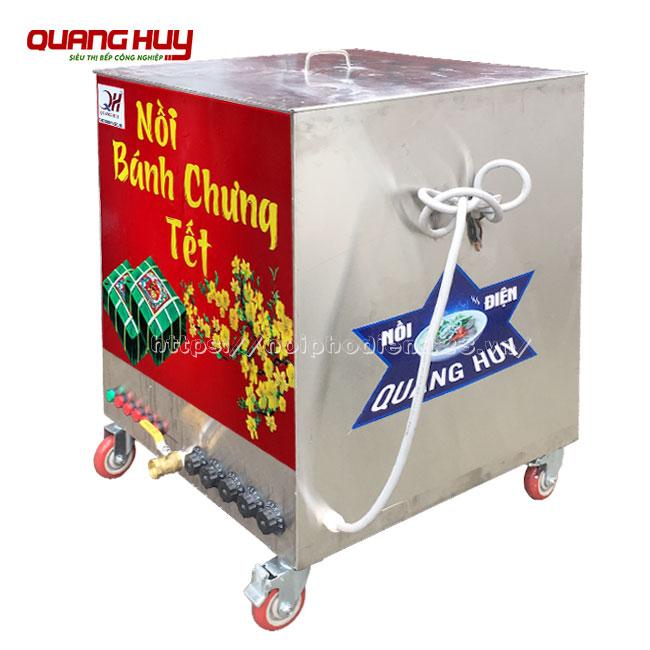 Nồi điện nấu bánh chưng vuông Quang Huy
