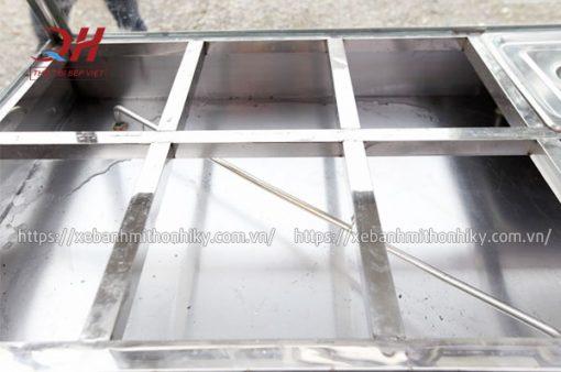 Thanh nhiệt, khoang chứa nước tủ kính bán cơm
