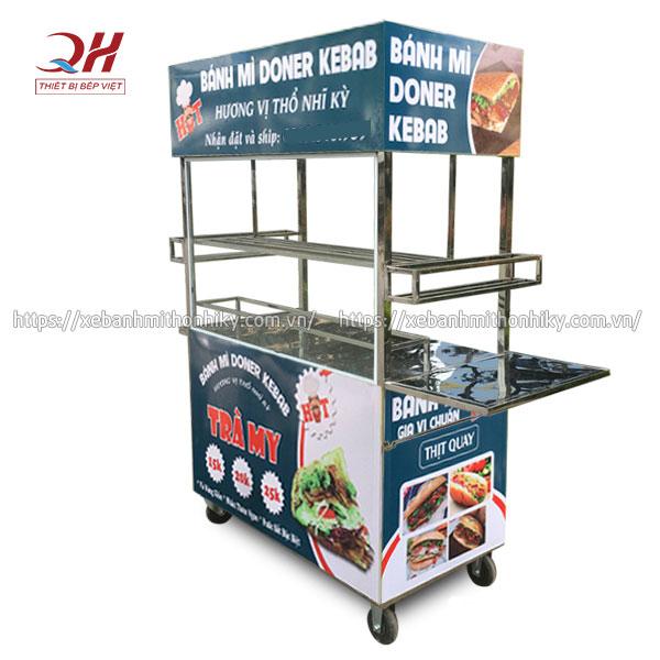 Tủ xe đẩy bán hàng thiết kế theo yêu cầu
