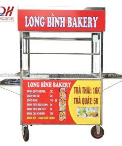 Xe bánh mì Long Bình Bakery